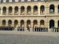 Hommage Mauroy Invalides