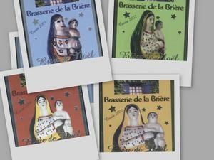 Vierge bière de Noël Brasserie de la Brière