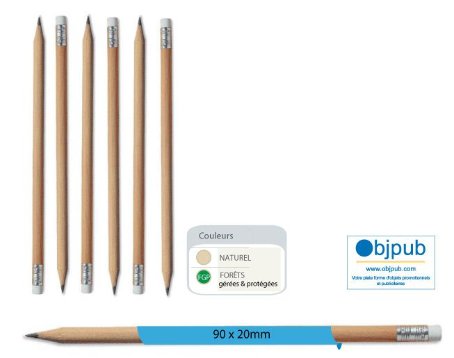 GLP objpub wooden pencil