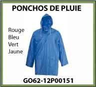 Vign Ponchos pluie GO62 12P00151