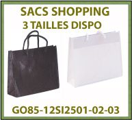 Vig Sac shopping intisse anse corde fond renforce BWbag