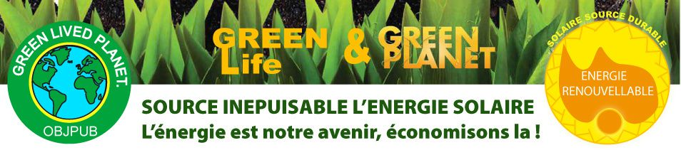 GREEN LIVED P Baniere SOLAI