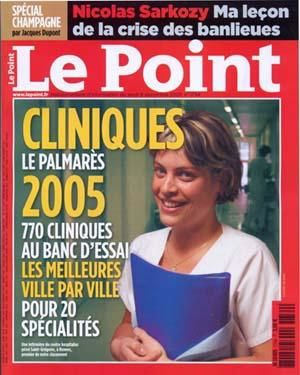 Le point, n° de Décembre 2005 par Jacques DUPONT