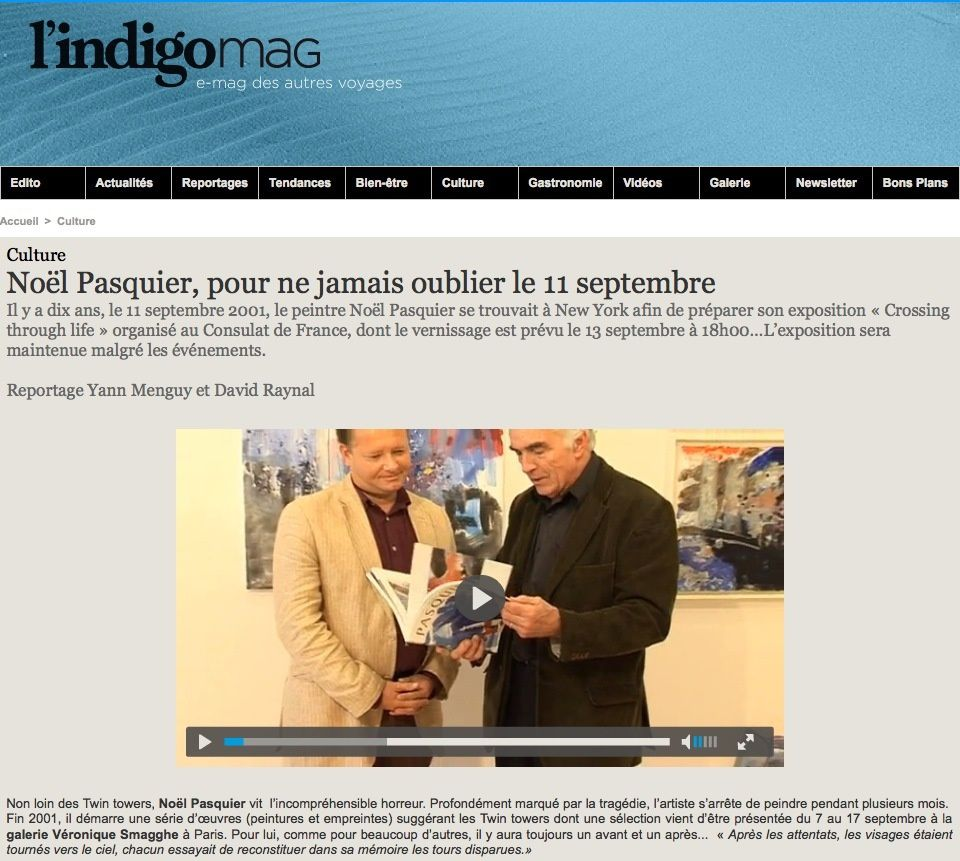 Articles de Presse, TV, Web, internet.