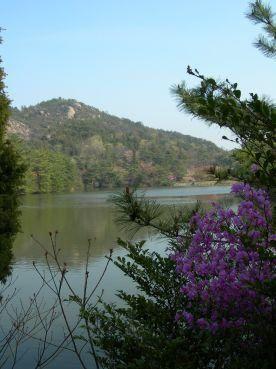 le lac de Miyama