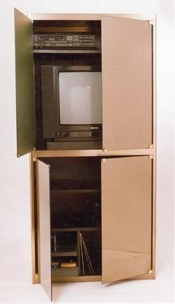 Meuble tv video hifi fabricant de vitrine d 39 exposition for Meuble d exposition