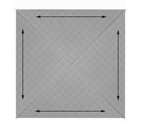Calcul des sashings et triangles d angle et de c t arithmetic for sashings corner and side - Calcul diagonale carre ...