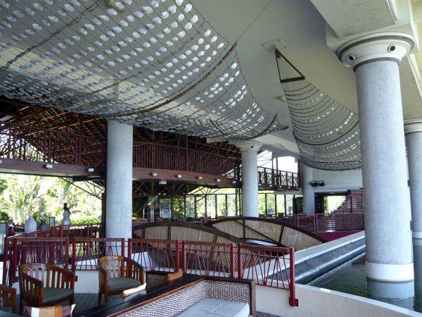 Meridien Tahiti hall