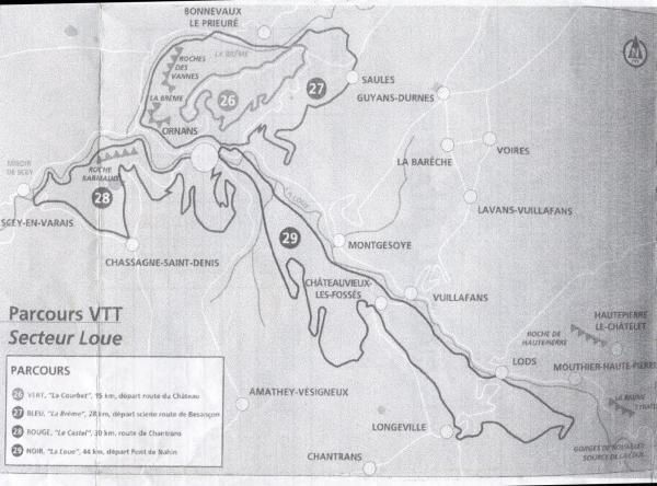 Circuits VTT d'Ornans