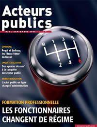 "La revue ""Acteurs publics"""