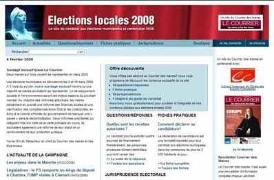 Elections locales 2008
