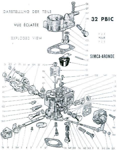 carburateur solex f 32