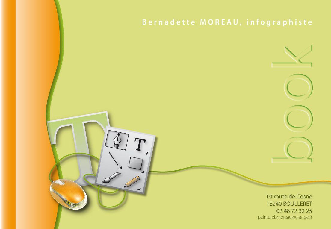 Travaux d'infographie réalisés en formation, en stage d'application et en entreprise.
