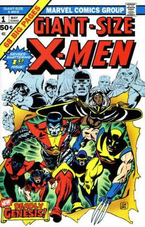 Le mythique Giant Size X-Men #1, de mai 1975