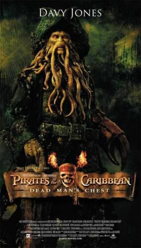 Davy Jones (Bill Nighy), aussi impressionnant que méchant...