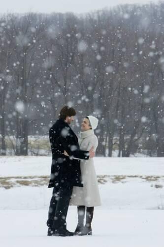 Retrouvailles sous la neige...