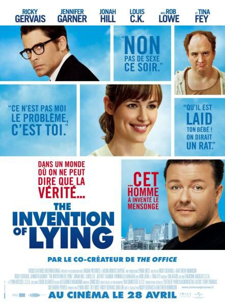 293 invention of lying affiche