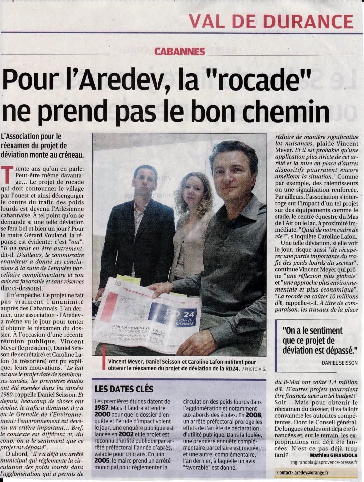 article rocade copier