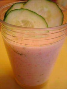 Concombre glacé