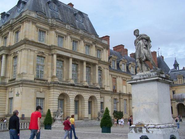 Fontainebleau, cour