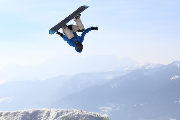 Backflip Snowboard 12
