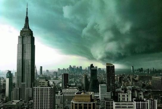 sandy sur new york