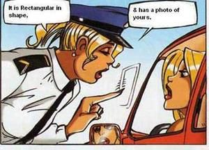 image drole blonde