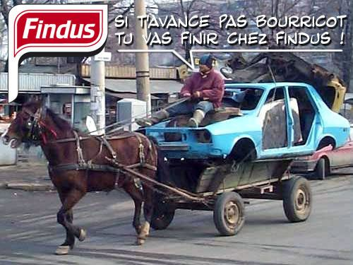 blague 2 chevaux