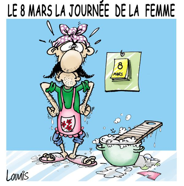Humour La Journee Internationale De La Femme En Images Bd 2015