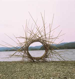 andy goldsworthy bambou