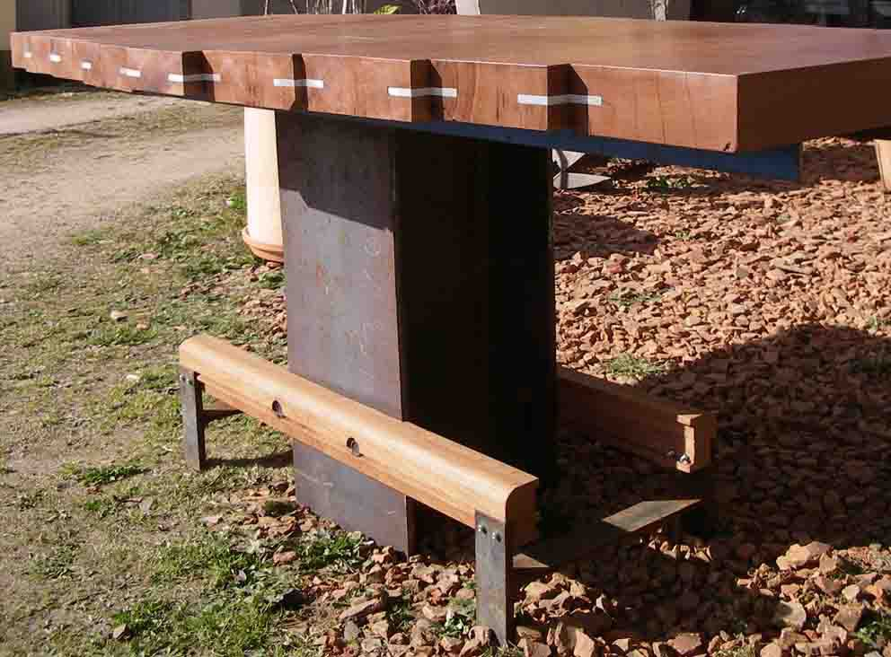 Table de jardin IPN. - François Lebot Upcycling designer