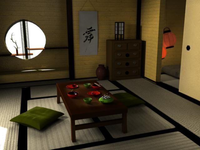 Un int rieur japonais avec du bois orange piki blog for Interieur japonais