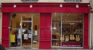 castelluccia les guitares musique rue de rome. Black Bedroom Furniture Sets. Home Design Ideas