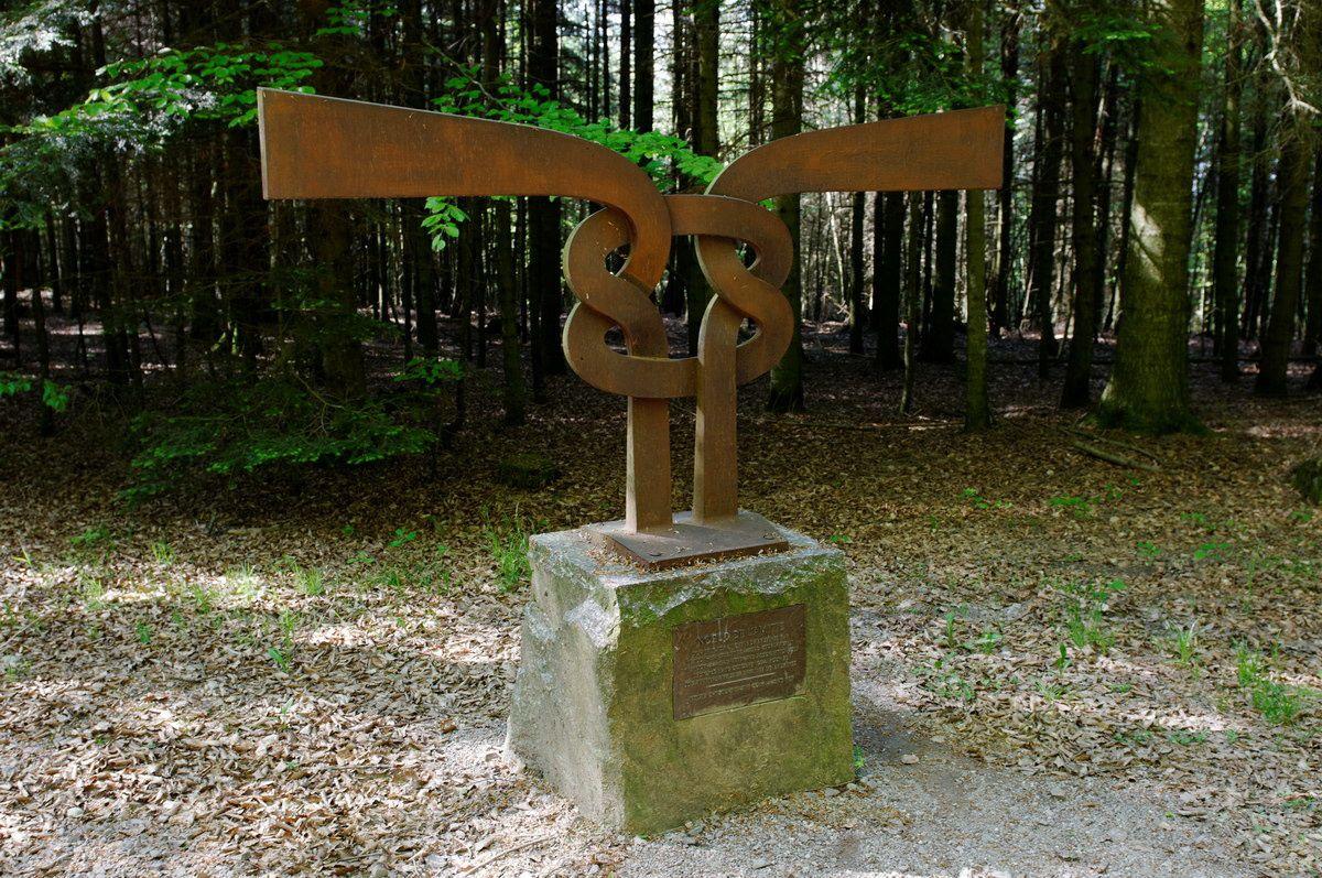 Photographies en forêt de Faîte et de l'Helledraye. Point de vue de la pointe de l'Helledraye sur Bruyères et ses environs.