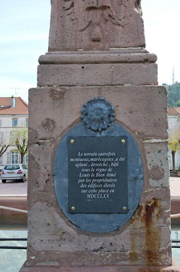 Photographies de la Place Stanislas et de ses abords. Photographies de l'Office du Tourisme Vallons des Vosges