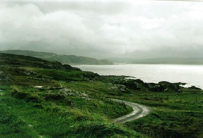 Inishowen Peninsula. Ireland-Brooding view from Malin Head