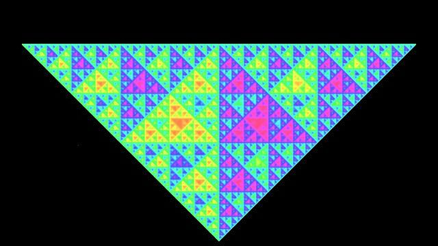 fractale triangle