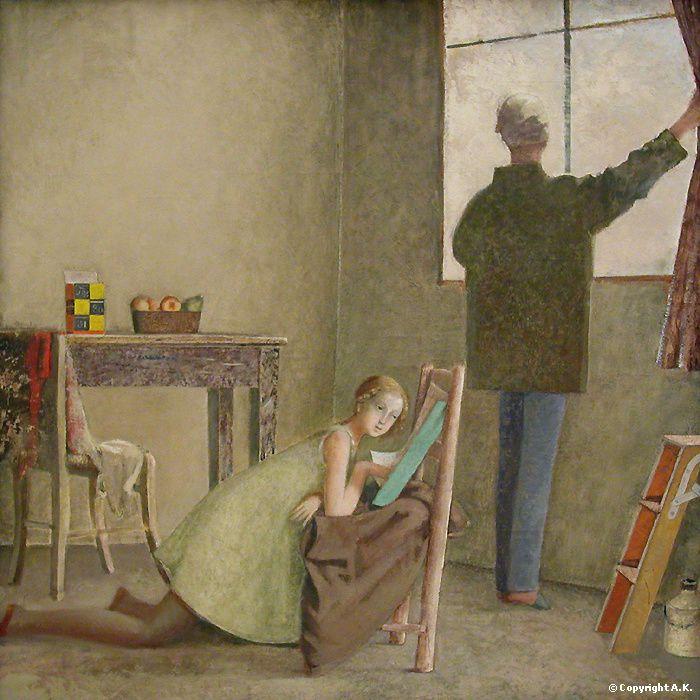 Dedans dehors les issues en peinture 16e 20e s w o for Balthus la chambre turque