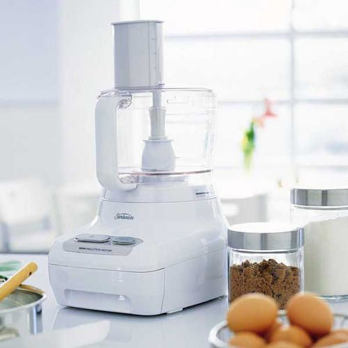 how to use food processor to make dough