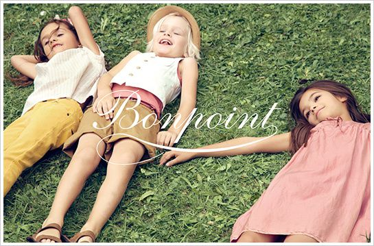 Nouvelle collection Bonpoint - printemps / été 2012