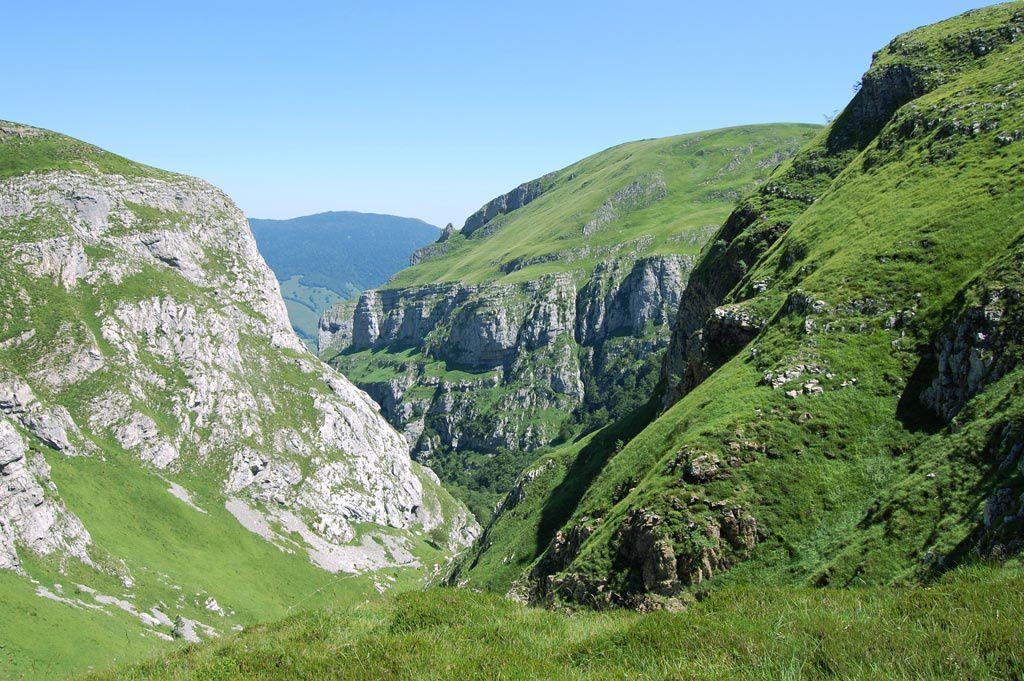 Vue depuis les falaises de Tchinkhorjokhaguia