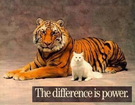 DIFFERENCE is power