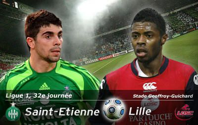 Match de football Saint-Etienne-Lille