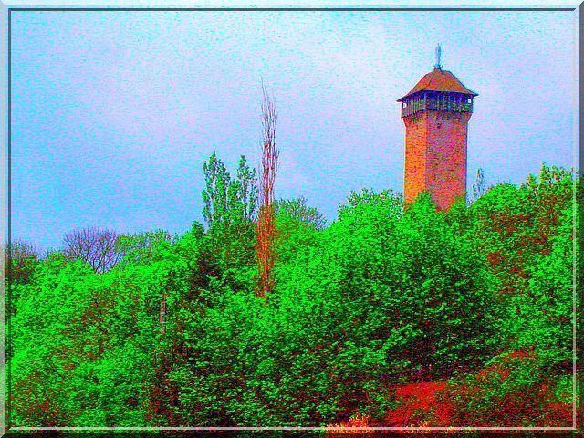 Est ce un phare surveillant les bois ?