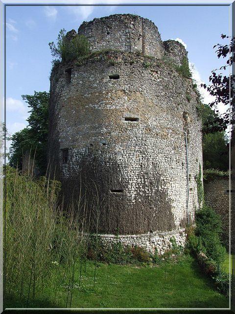 Les canonnières montrent l'évolution défensive du château