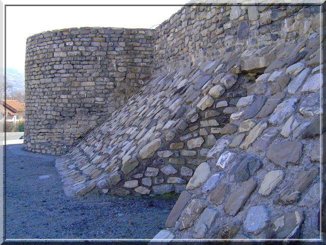 Un site médiéval très consolidé