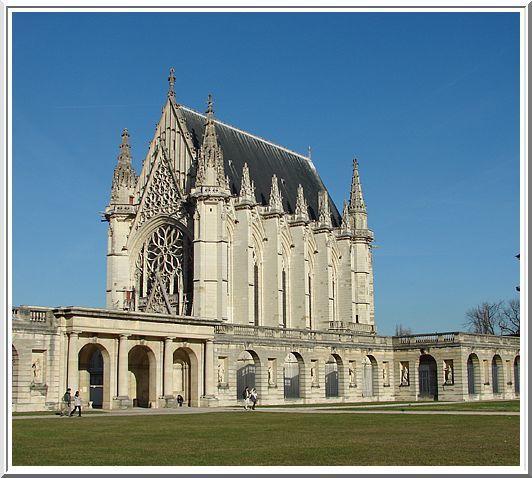 La Sainte Chapelle et le portique Nord