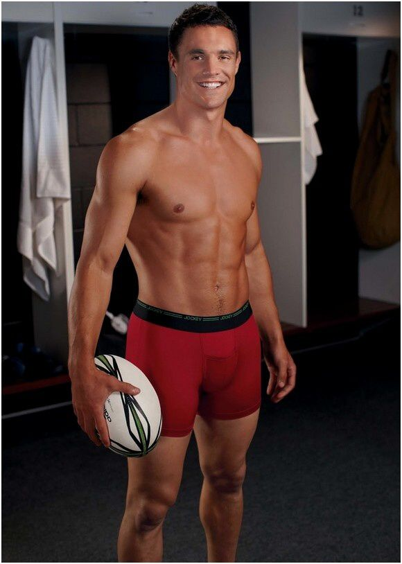 Dan Carter Underwear Jockey Shirtless Bulge (2)