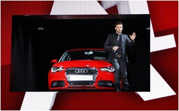 justin timberlake parrain de la nouvelle audi a1 parisianboys. Black Bedroom Furniture Sets. Home Design Ideas