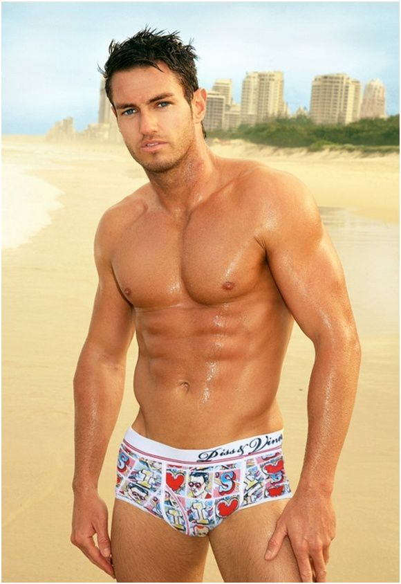 hot guy at the beach (2)